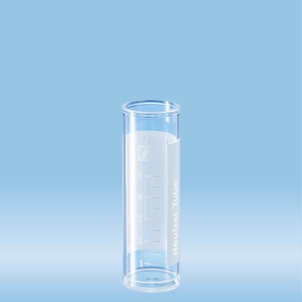 Tube, 7 ml, (LxØ): 50 x 16 mm, PS, with print