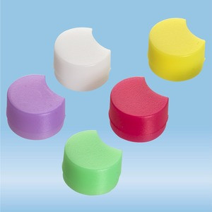 Colour-coded inserts, for CryoPure tubes, Colour mix