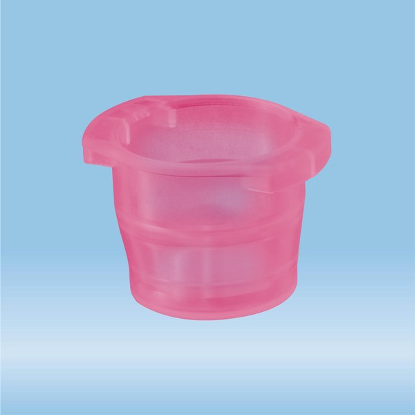 Cap, red, suitable for tubes Ø 12-17 mm