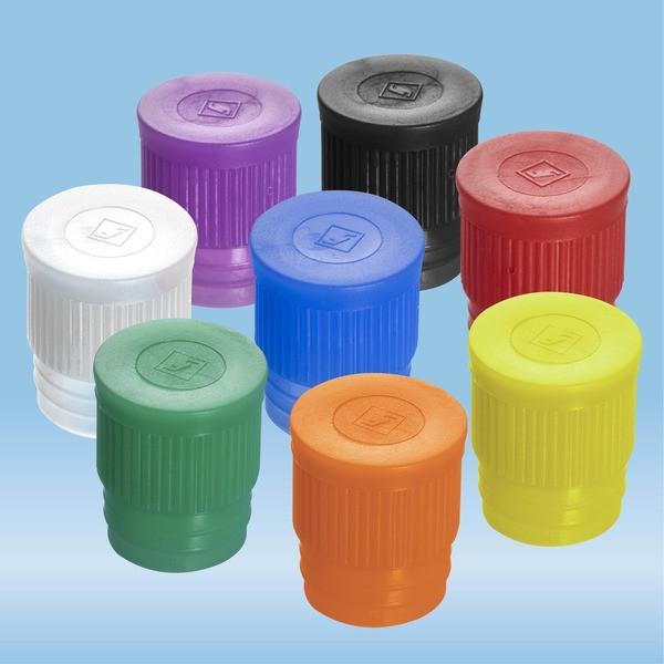 Push cap, colour mix, suitable for tubes Ø 16-17 mm