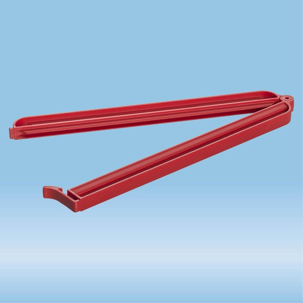 Closure clip, (LxW): 220 x 12 mm, PA