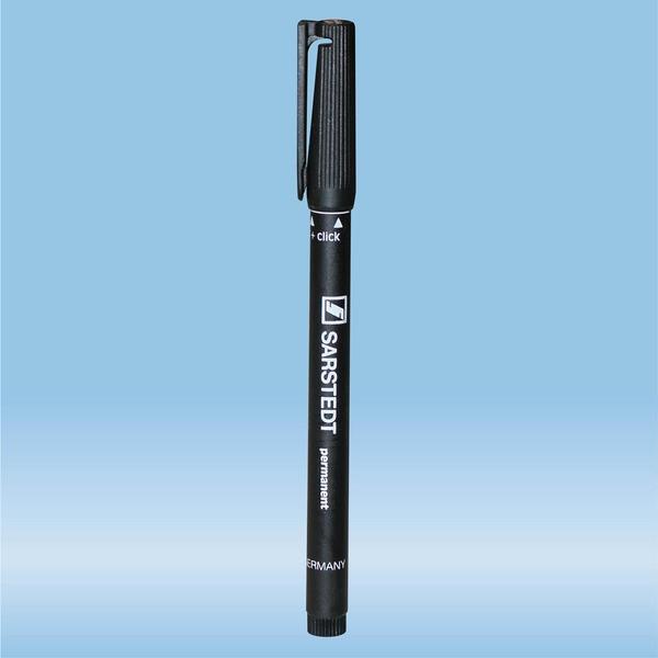 Felt marker, black, waterproof