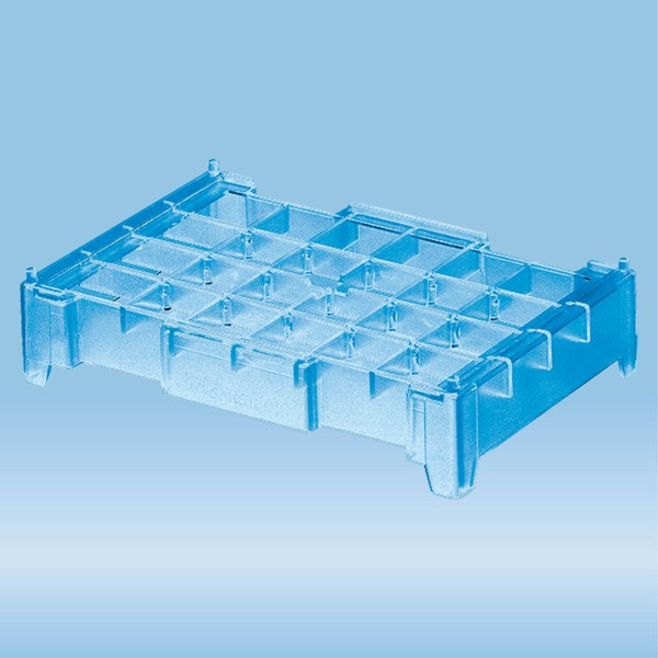 Base station, PC, format: 6 x 4, suitable for 0.2 ml PCR tubes