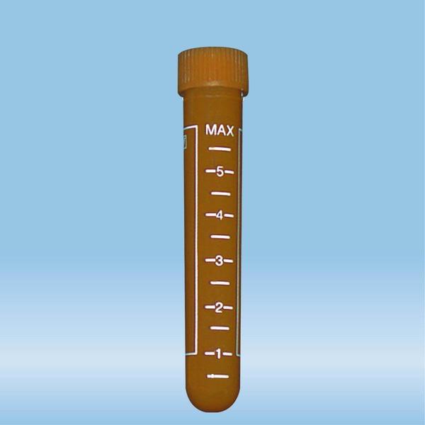 Screw cap tube, 7 ml, (LxØ): 82 x 13 mm, PP, with print