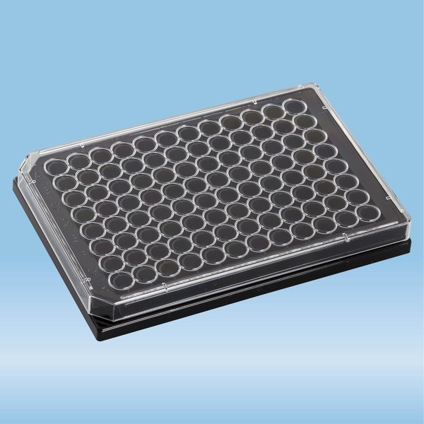 lumox® multiwell, Cell culture plate, with foil base, 96 well