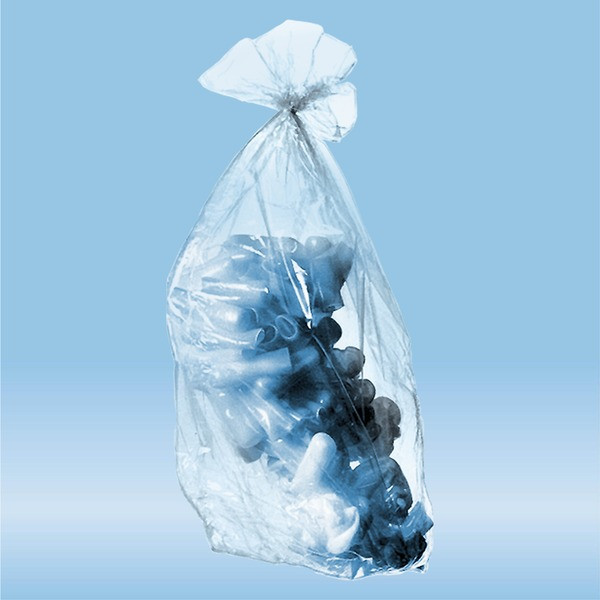 Disposal bags, 40 l, (LxW): 780 x 600 mm, PP, transparent